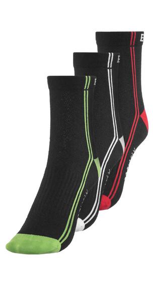 Endura CoolMax Stripe II Sokker TriplePack Svart